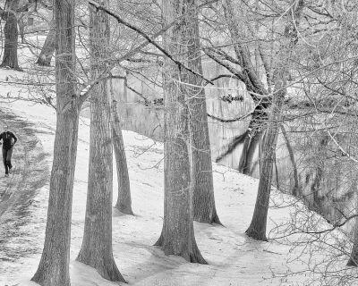 Prepárate para correr por la montaña en invierno