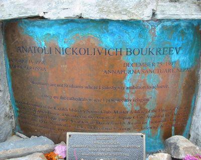 Figuras de la montaña (VI): Boukreev, el incomprendido