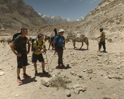 WOPeak: Iñurrategi, Vallejo y Zabalza ya están en el campo base del Paiju Peak