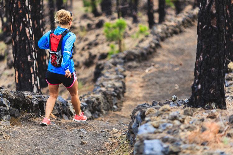 bajada trail de montaña