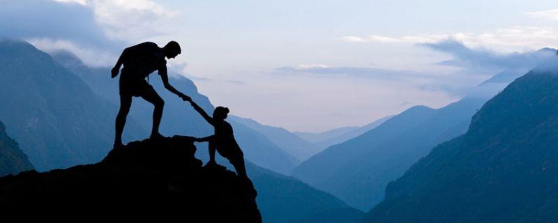 Paraescaladores, héroes de la roca