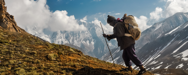 Los sherpas, gregarios anónimos en el Tíbet