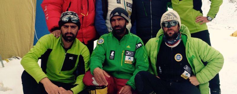 """Alex Txikon: """"No sabemos cómo estará arriba, ha nevado mucho los dos últimos días"""""""