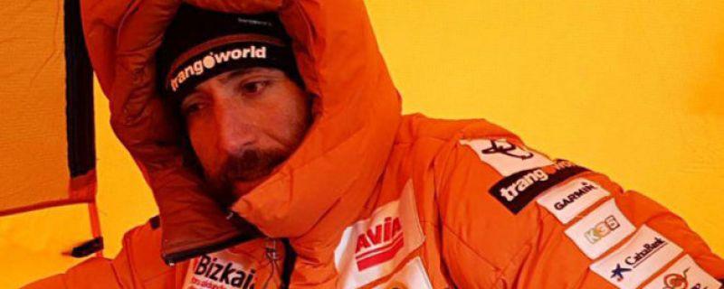 Txikon realiza los últimos preparativos antes de afrontar su asalto al Everest