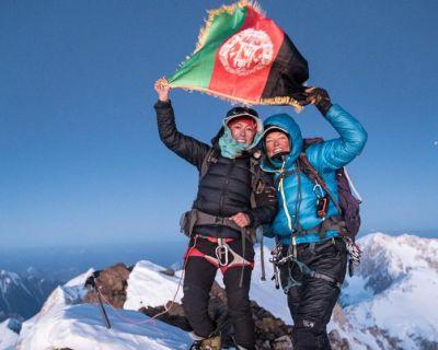 La afgana Yousoufi engrandece la leyenda de la mujer en la montaña