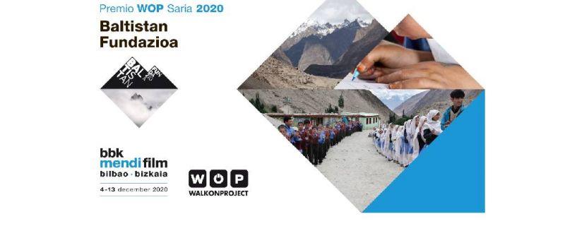 El BBK Mendi Film calienta motores y anuncia la concesión del Premio WOP a Baltistan Fundazioa