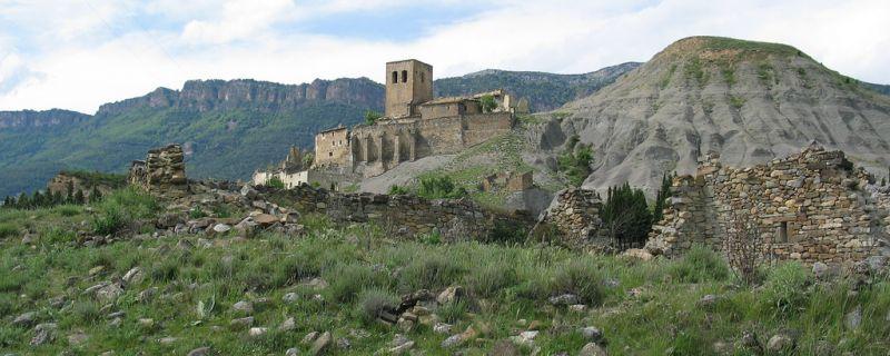 Los pueblos abandonados de Yesa