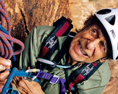 Figuras de la montaña XIII: Fred Beckey, el nómada que consagró su vida a la escalada