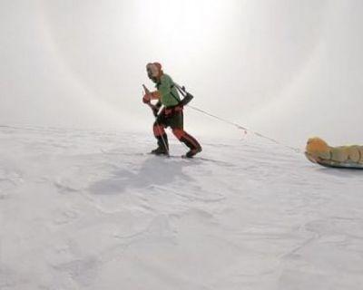 Colin O´Brady recorre la Antártida en 54 días y sin ayuda externa