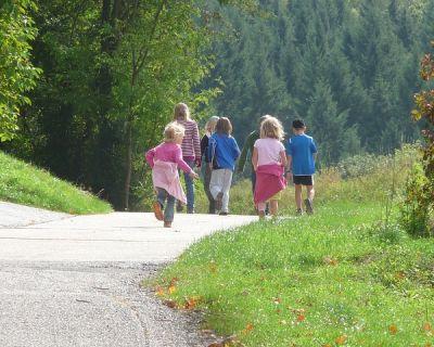 Ir a la montaña con niños